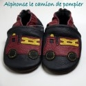 Bottines violettes 2-3 ans