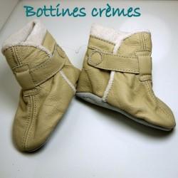 Bottines crèmes 18-24 mois
