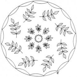 20 Mandalas des 4 saisons