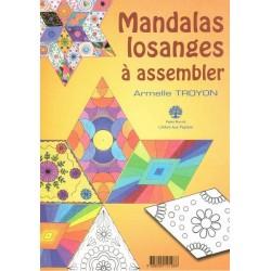 Mandalas losanges à assembler