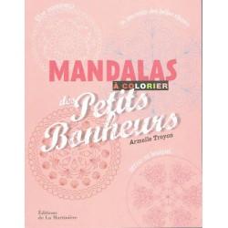 Livre 200 Mandalas des petits bonheur- Edition de la Martinière