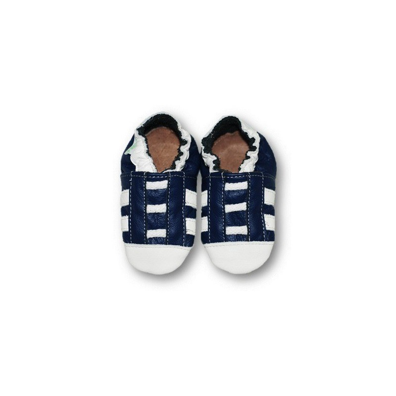 Baskets bleues marines 30-31