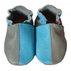 Bicolore turquoise gris 36-37